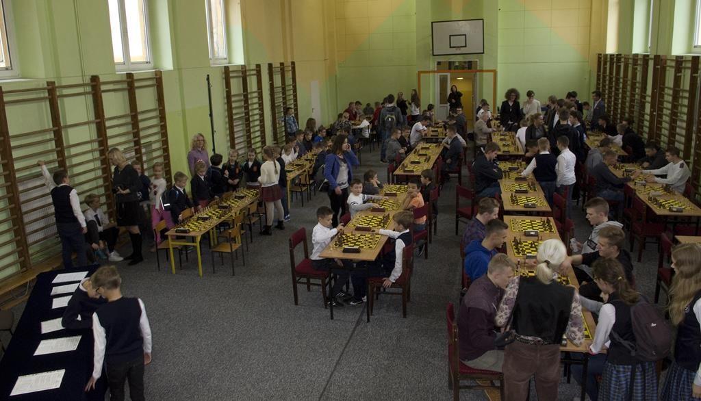 Inauguracja Szkolnej  Ligi Szachowej