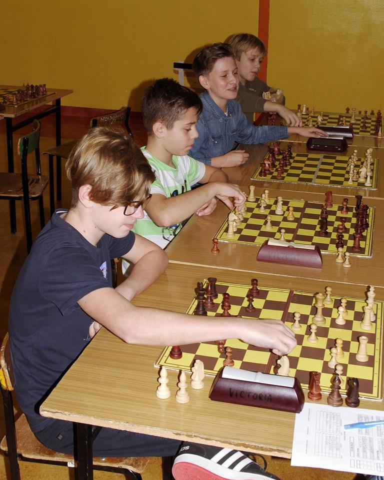 Liga Szachowa w  naszej szkole