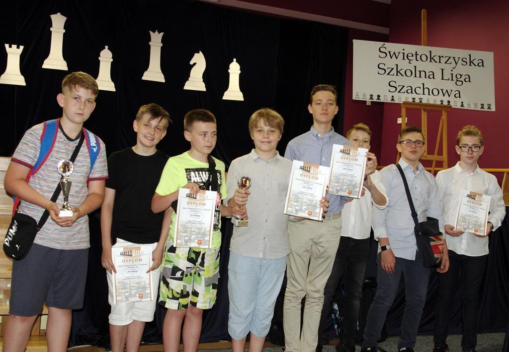 Zakończenie XV Szkolnej Ligi Szachowej